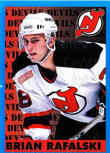 1999-00 Panini Stickers #82 Brian Rafalski<br/>2 In Stock - $1.00 each - <a href=https://centericecollectibles.foxycart.com/cart?name=1999-00%20Panini%20Stickers%20%2382%20Brian%20Rafalski...&quantity_max=2&price=$1.00&code=386577 class=foxycart> Buy it now! </a>