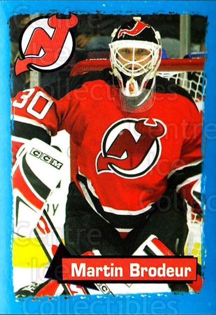 2003-04 Panini Stickers #88 Martin Brodeur<br/>3 In Stock - $5.00 each - <a href=https://centericecollectibles.foxycart.com/cart?name=2003-04%20Panini%20Stickers%20%2388%20Martin%20Brodeur...&quantity_max=3&price=$5.00&code=386606 class=foxycart> Buy it now! </a>