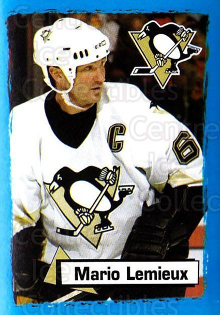 2003-04 Panini Stickers #144 Mario Lemieux<br/>6 In Stock - $3.00 each - <a href=https://centericecollectibles.foxycart.com/cart?name=2003-04%20Panini%20Stickers%20%23144%20Mario%20Lemieux...&quantity_max=6&price=$3.00&code=386609 class=foxycart> Buy it now! </a>