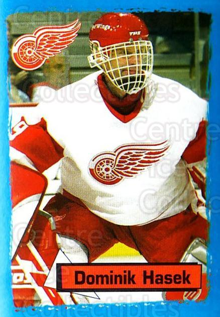 2003-04 Panini Stickers #282 Dominik Hasek<br/>5 In Stock - $2.00 each - <a href=https://centericecollectibles.foxycart.com/cart?name=2003-04%20Panini%20Stickers%20%23282%20Dominik%20Hasek...&quantity_max=5&price=$2.00&code=386622 class=foxycart> Buy it now! </a>