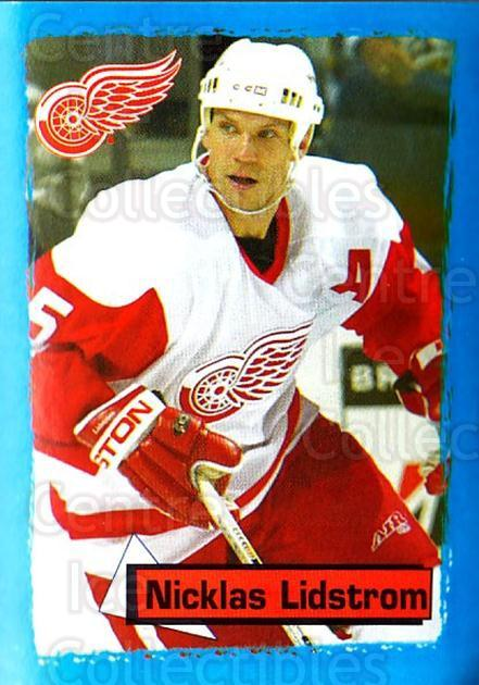 2003-04 Panini Stickers #286 Nicklas Lidstrom<br/>6 In Stock - $2.00 each - <a href=https://centericecollectibles.foxycart.com/cart?name=2003-04%20Panini%20Stickers%20%23286%20Nicklas%20Lidstro...&quantity_max=6&price=$2.00&code=386623 class=foxycart> Buy it now! </a>