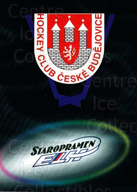 1998-99 Czech OFS Team Cards #2 HC Ceski Budejovice<br/>2 In Stock - $3.00 each - <a href=https://centericecollectibles.foxycart.com/cart?name=1998-99%20Czech%20OFS%20Team%20Cards%20%232%20HC%20Ceski%20Budejo...&quantity_max=2&price=$3.00&code=386657 class=foxycart> Buy it now! </a>