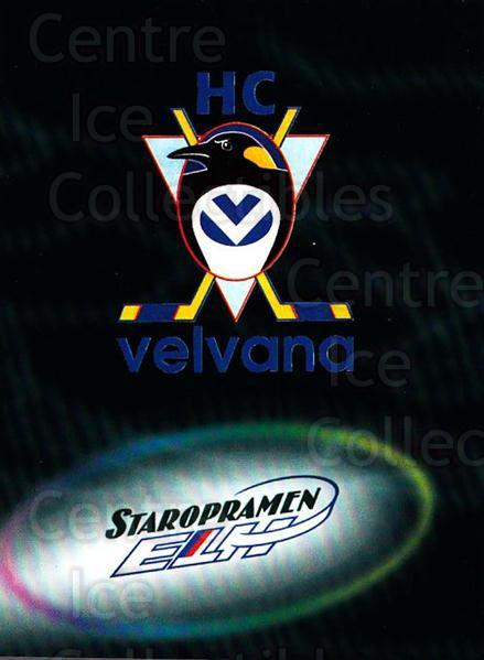 1998-99 Czech OFS Team Cards #11 HC Velvana Kladno<br/>1 In Stock - $3.00 each - <a href=https://centericecollectibles.foxycart.com/cart?name=1998-99%20Czech%20OFS%20Team%20Cards%20%2311%20HC%20Velvana%20Klad...&quantity_max=1&price=$3.00&code=386660 class=foxycart> Buy it now! </a>