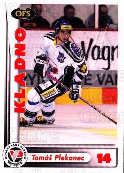 2001-02 Czech OFS Red Inserts #3 Tomas Plekanec<br/>1 In Stock - $3.00 each - <a href=https://centericecollectibles.foxycart.com/cart?name=2001-02%20Czech%20OFS%20Red%20Inserts%20%233%20Tomas%20Plekanec...&quantity_max=1&price=$3.00&code=387072 class=foxycart> Buy it now! </a>