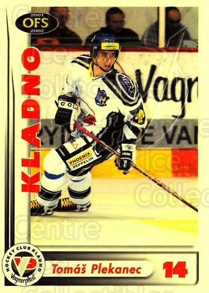 2001-02 Czech OFS Yellow Inserts #3 Tomas Plekanec<br/>1 In Stock - $3.00 each - <a href=https://centericecollectibles.foxycart.com/cart?name=2001-02%20Czech%20OFS%20Yellow%20Inserts%20%233%20Tomas%20Plekanec...&quantity_max=1&price=$3.00&code=387120 class=foxycart> Buy it now! </a>