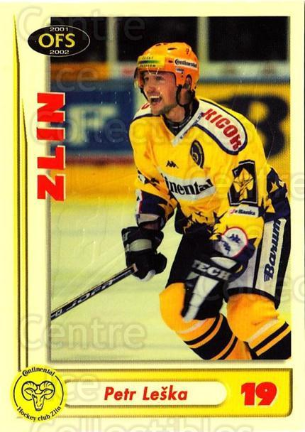 2001-02 Czech OFS Yellow Inserts #17 Petr Leska<br/>1 In Stock - $3.00 each - <a href=https://centericecollectibles.foxycart.com/cart?name=2001-02%20Czech%20OFS%20Yellow%20Inserts%20%2317%20Petr%20Leska...&quantity_max=1&price=$3.00&code=387134 class=foxycart> Buy it now! </a>
