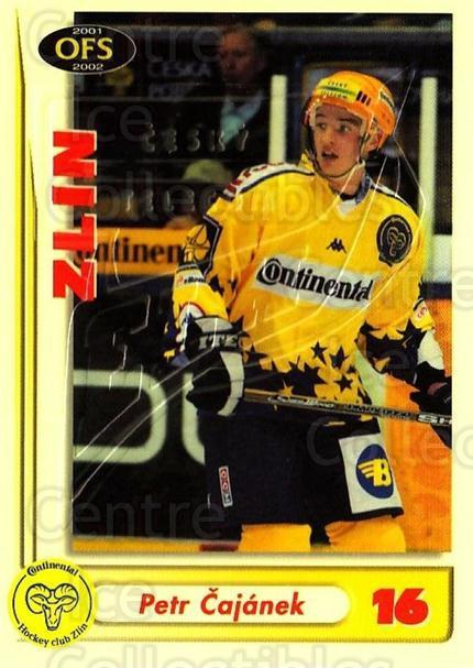 2001-02 Czech OFS Yellow Inserts #18 Petr Cajanek<br/>1 In Stock - $3.00 each - <a href=https://centericecollectibles.foxycart.com/cart?name=2001-02%20Czech%20OFS%20Yellow%20Inserts%20%2318%20Petr%20Cajanek...&quantity_max=1&price=$3.00&code=387135 class=foxycart> Buy it now! </a>