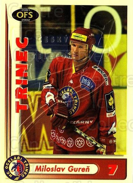 2001-02 Czech OFS Yellow Inserts #24 Miloslav Guren<br/>1 In Stock - $3.00 each - <a href=https://centericecollectibles.foxycart.com/cart?name=2001-02%20Czech%20OFS%20Yellow%20Inserts%20%2324%20Miloslav%20Guren...&quantity_max=1&price=$3.00&code=387141 class=foxycart> Buy it now! </a>