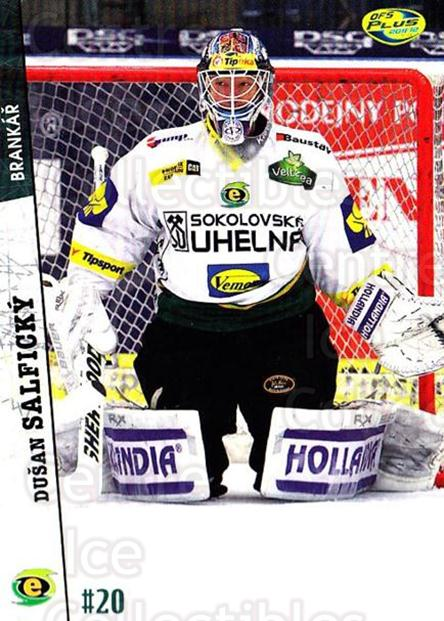 2011-12 Czech OFS #371 Dusan Salficky<br/>2 In Stock - $2.00 each - <a href=https://centericecollectibles.foxycart.com/cart?name=2011-12%20Czech%20OFS%20%23371%20Dusan%20Salficky...&price=$2.00&code=387459 class=foxycart> Buy it now! </a>