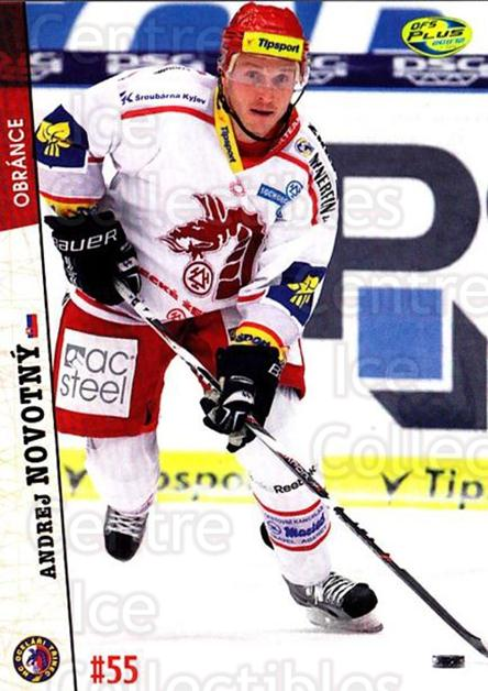 2011-12 Czech OFS #398 Andrej Novotny<br/>1 In Stock - $2.00 each - <a href=https://centericecollectibles.foxycart.com/cart?name=2011-12%20Czech%20OFS%20%23398%20Andrej%20Novotny...&price=$2.00&code=387486 class=foxycart> Buy it now! </a>
