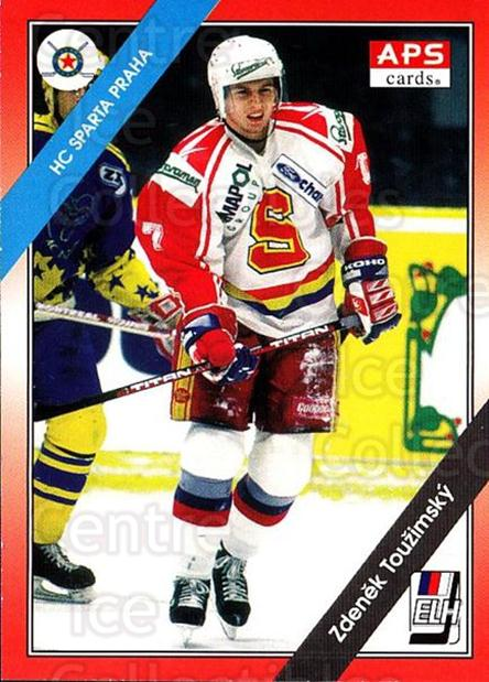 1994-95 Czech APS Extraliga #73 Zdenek Touzimsky<br/>1 In Stock - $2.00 each - <a href=https://centericecollectibles.foxycart.com/cart?name=1994-95%20Czech%20APS%20Extraliga%20%2373%20Zdenek%20Touzimsk...&quantity_max=1&price=$2.00&code=388276 class=foxycart> Buy it now! </a>