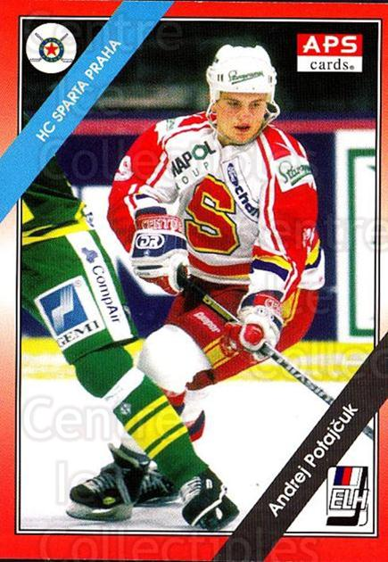 1994-95 Czech APS Extraliga #92 Andrej Potajcuk<br/>1 In Stock - $2.00 each - <a href=https://centericecollectibles.foxycart.com/cart?name=1994-95%20Czech%20APS%20Extraliga%20%2392%20Andrej%20Potajcuk...&quantity_max=1&price=$2.00&code=388279 class=foxycart> Buy it now! </a>