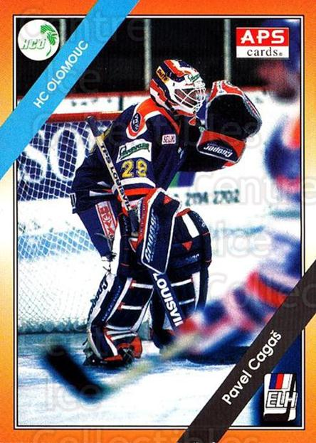 1994-95 Czech APS Extraliga #1 Pavel Cagas<br/>3 In Stock - $2.00 each - <a href=https://centericecollectibles.foxycart.com/cart?name=1994-95%20Czech%20APS%20Extraliga%20%231%20Pavel%20Cagas...&quantity_max=3&price=$2.00&code=388365 class=foxycart> Buy it now! </a>