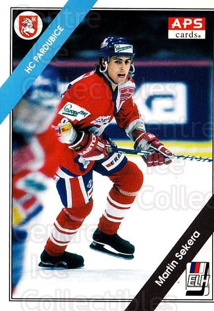 1994-95 Czech APS Extraliga #44 Martin Sekera<br/>2 In Stock - $2.00 each - <a href=https://centericecollectibles.foxycart.com/cart?name=1994-95%20Czech%20APS%20Extraliga%20%2344%20Martin%20Sekera...&quantity_max=2&price=$2.00&code=388385 class=foxycart> Buy it now! </a>