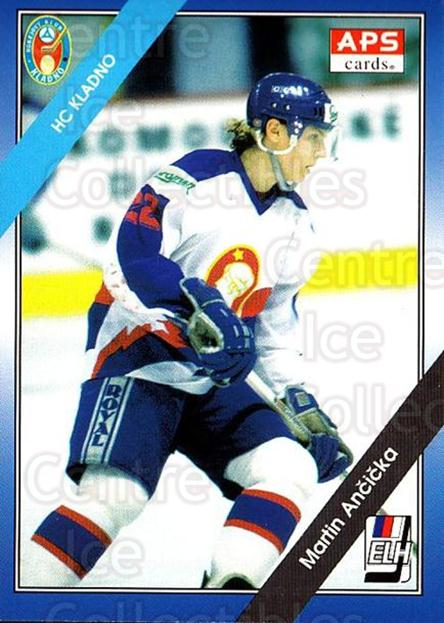 1994-95 Czech APS Extraliga #55 Martin Ancicka<br/>2 In Stock - $2.00 each - <a href=https://centericecollectibles.foxycart.com/cart?name=1994-95%20Czech%20APS%20Extraliga%20%2355%20Martin%20Ancicka...&quantity_max=2&price=$2.00&code=388389 class=foxycart> Buy it now! </a>