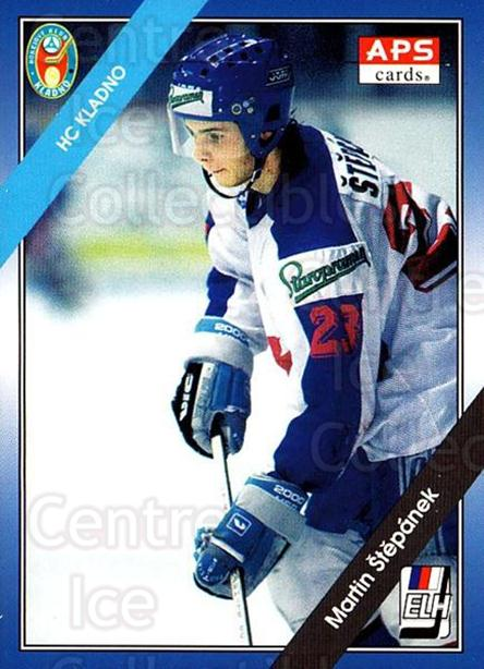 1994-95 Czech APS Extraliga #65 Martin Stepanek<br/>3 In Stock - $2.00 each - <a href=https://centericecollectibles.foxycart.com/cart?name=1994-95%20Czech%20APS%20Extraliga%20%2365%20Martin%20Stepanek...&quantity_max=3&price=$2.00&code=388396 class=foxycart> Buy it now! </a>