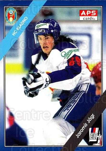 1994-95 Czech APS Extraliga #68 Jaromir Jagr<br/>3 In Stock - $50.00 each - <a href=https://centericecollectibles.foxycart.com/cart?name=1994-95%20Czech%20APS%20Extraliga%20%2368%20Jaromir%20Jagr...&quantity_max=3&price=$50.00&code=388397 class=foxycart> Buy it now! </a>
