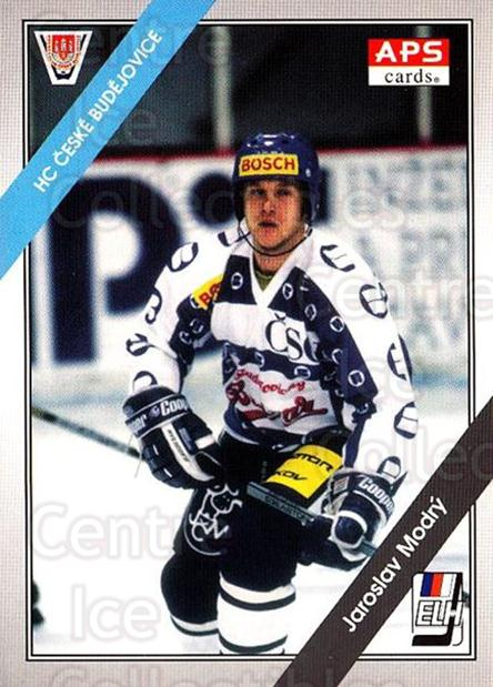 1994-95 Czech APS Extraliga #97 Jaroslav Modry<br/>1 In Stock - $2.00 each - <a href=https://centericecollectibles.foxycart.com/cart?name=1994-95%20Czech%20APS%20Extraliga%20%2397%20Jaroslav%20Modry...&quantity_max=1&price=$2.00&code=388403 class=foxycart> Buy it now! </a>
