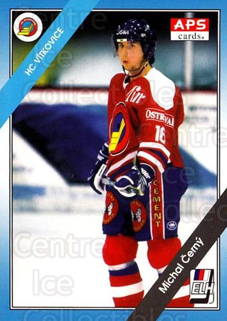 1994-95 Czech APS Extraliga #126 Michal Cerny<br/>3 In Stock - $2.00 each - <a href=https://centericecollectibles.foxycart.com/cart?name=1994-95%20Czech%20APS%20Extraliga%20%23126%20Michal%20Cerny...&quantity_max=3&price=$2.00&code=388405 class=foxycart> Buy it now! </a>