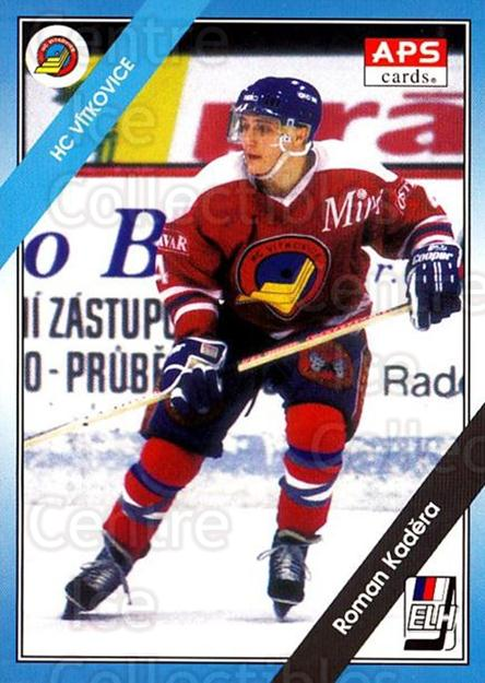 1994-95 Czech APS Extraliga #135 Roman Kadera<br/>3 In Stock - $2.00 each - <a href=https://centericecollectibles.foxycart.com/cart?name=1994-95%20Czech%20APS%20Extraliga%20%23135%20Roman%20Kadera...&quantity_max=3&price=$2.00&code=388407 class=foxycart> Buy it now! </a>