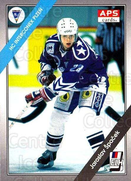 1994-95 Czech APS Extraliga #148 Jaroslav Spacek<br/>1 In Stock - $2.00 each - <a href=https://centericecollectibles.foxycart.com/cart?name=1994-95%20Czech%20APS%20Extraliga%20%23148%20Jaroslav%20Spacek...&quantity_max=1&price=$2.00&code=388409 class=foxycart> Buy it now! </a>