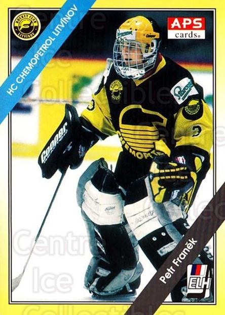 1994-95 Czech APS Extraliga #204 Petr Franek<br/>3 In Stock - $2.00 each - <a href=https://centericecollectibles.foxycart.com/cart?name=1994-95%20Czech%20APS%20Extraliga%20%23204%20Petr%20Franek...&price=$2.00&code=388414 class=foxycart> Buy it now! </a>