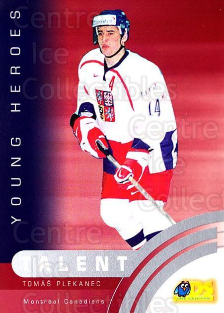 2002-03 Czech DS #69 Tomas Plekanec<br/>2 In Stock - $3.00 each - <a href=https://centericecollectibles.foxycart.com/cart?name=2002-03%20Czech%20DS%20%2369%20Tomas%20Plekanec...&quantity_max=2&price=$3.00&code=389428 class=foxycart> Buy it now! </a>
