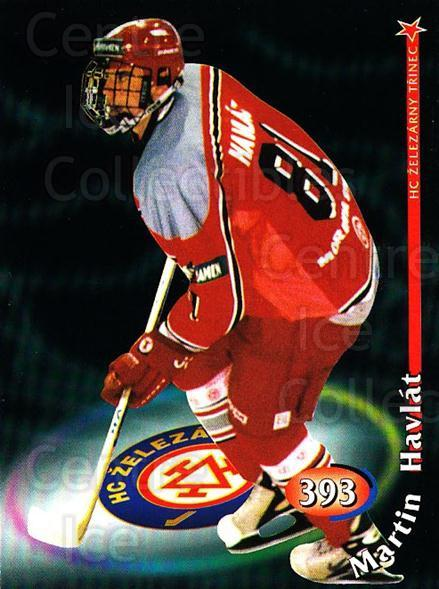 1998-99 Czech OFS #393 Martin Havlat<br/>2 In Stock - $5.00 each - <a href=https://centericecollectibles.foxycart.com/cart?name=1998-99%20Czech%20OFS%20%23393%20Martin%20Havlat...&quantity_max=2&price=$5.00&code=389759 class=foxycart> Buy it now! </a>