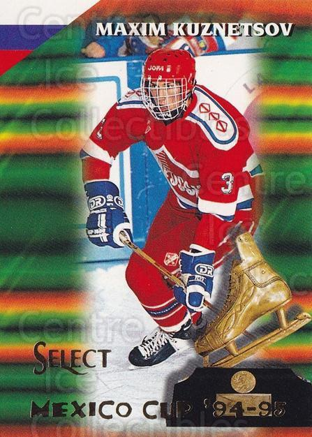 1994-95 Select #157 Maxim Kuznetsov<br/>1 In Stock - $1.00 each - <a href=https://centericecollectibles.foxycart.com/cart?name=1994-95%20Select%20%23157%20Maxim%20Kuznetsov...&quantity_max=1&price=$1.00&code=389894 class=foxycart> Buy it now! </a>