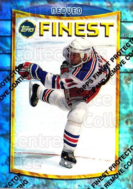 1994-95 Finest Refractors #101 Petr Nedved<br/>1 In Stock - $5.00 each - <a href=https://centericecollectibles.foxycart.com/cart?name=1994-95%20Finest%20Refractors%20%23101%20Petr%20Nedved...&quantity_max=1&price=$5.00&code=389916 class=foxycart> Buy it now! </a>