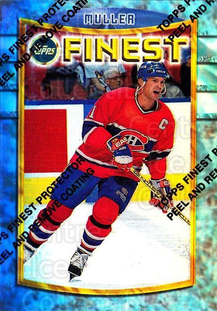 1994-95 Finest Refractors #44 Kirk Muller<br/>3 In Stock - $5.00 each - <a href=https://centericecollectibles.foxycart.com/cart?name=1994-95%20Finest%20Refractors%20%2344%20Kirk%20Muller...&quantity_max=3&price=$5.00&code=390006 class=foxycart> Buy it now! </a>