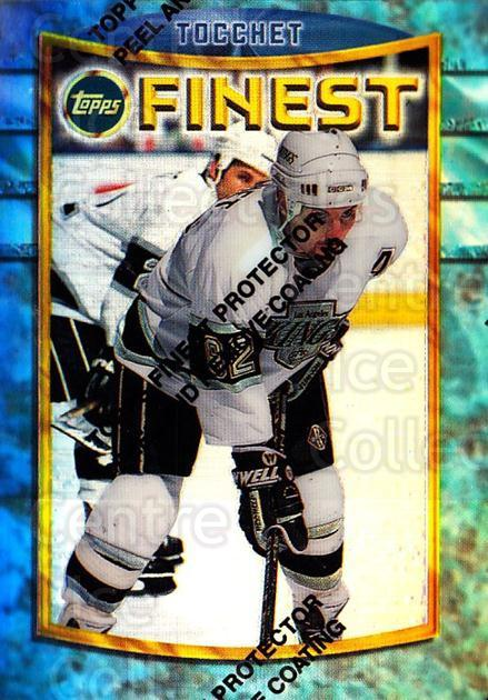 1994-95 Finest Refractors #52 Rick Tocchet<br/>1 In Stock - $5.00 each - <a href=https://centericecollectibles.foxycart.com/cart?name=1994-95%20Finest%20Refractors%20%2352%20Rick%20Tocchet...&quantity_max=1&price=$5.00&code=390015 class=foxycart> Buy it now! </a>