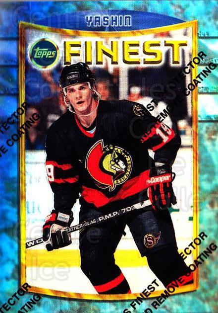 1994-95 Finest Refractors #56 Alexei Yashin<br/>1 In Stock - $5.00 each - <a href=https://centericecollectibles.foxycart.com/cart?name=1994-95%20Finest%20Refractors%20%2356%20Alexei%20Yashin...&quantity_max=1&price=$5.00&code=390019 class=foxycart> Buy it now! </a>