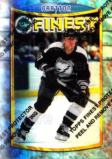 1994-95 Finest Refractors #58 Chris Gratton<br/>4 In Stock - $5.00 each - <a href=https://centericecollectibles.foxycart.com/cart?name=1994-95%20Finest%20Refractors%20%2358%20Chris%20Gratton...&quantity_max=4&price=$5.00&code=390021 class=foxycart> Buy it now! </a>