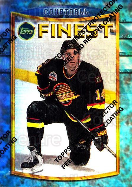 1994-95 Finest Refractors #83 Geoff Courtnall<br/>1 In Stock - $5.00 each - <a href=https://centericecollectibles.foxycart.com/cart?name=1994-95%20Finest%20Refractors%20%2383%20Geoff%20Courtnall...&quantity_max=1&price=$5.00&code=390045 class=foxycart> Buy it now! </a>