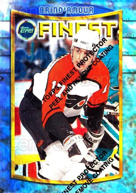1994-95 Finest Refractors #85 Rod Brind'Amour<br/>1 In Stock - $5.00 each - <a href=https://centericecollectibles.foxycart.com/cart?name=1994-95%20Finest%20Refractors%20%2385%20Rod%20Brind'Amour...&quantity_max=1&price=$5.00&code=390046 class=foxycart> Buy it now! </a>
