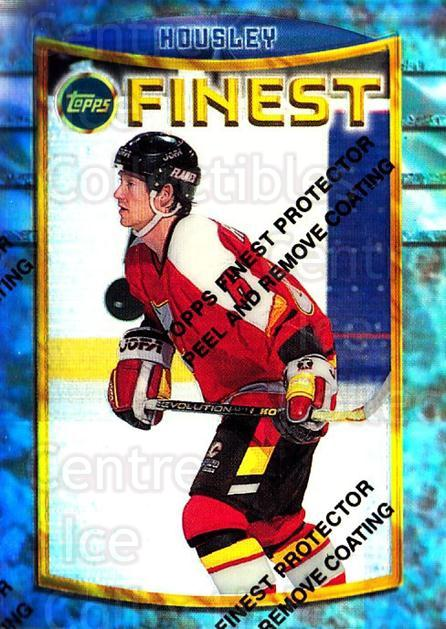 1994-95 Finest Refractors #91 Phil Housley<br/>4 In Stock - $5.00 each - <a href=https://centericecollectibles.foxycart.com/cart?name=1994-95%20Finest%20Refractors%20%2391%20Phil%20Housley...&quantity_max=4&price=$5.00&code=390053 class=foxycart> Buy it now! </a>