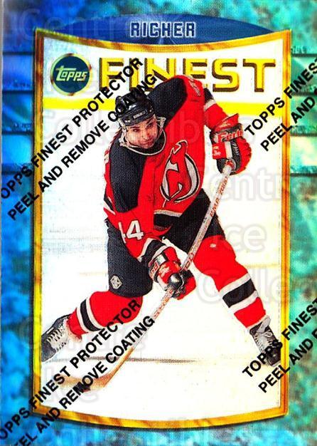 1994-95 Finest Refractors #94 Stephane Richer<br/>2 In Stock - $5.00 each - <a href=https://centericecollectibles.foxycart.com/cart?name=1994-95%20Finest%20Refractors%20%2394%20Stephane%20Richer...&quantity_max=2&price=$5.00&code=390056 class=foxycart> Buy it now! </a>