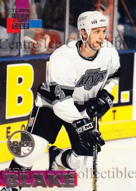 1994-95 Stadium Club Members Only #135 Rob Blake<br/>6 In Stock - $5.00 each - <a href=https://centericecollectibles.foxycart.com/cart?name=1994-95%20Stadium%20Club%20Members%20Only%20%23135%20Rob%20Blake...&quantity_max=6&price=$5.00&code=390123 class=foxycart> Buy it now! </a>