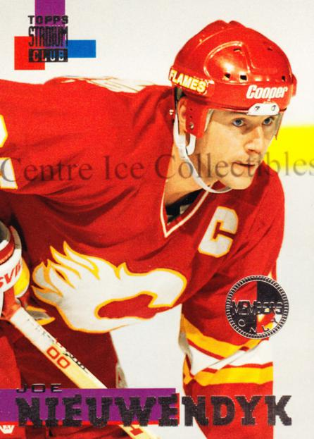 1994-95 Stadium Club Members Only #166 Joe Nieuwendyk<br/>3 In Stock - $5.00 each - <a href=https://centericecollectibles.foxycart.com/cart?name=1994-95%20Stadium%20Club%20Members%20Only%20%23166%20Joe%20Nieuwendyk...&quantity_max=3&price=$5.00&code=390155 class=foxycart> Buy it now! </a>