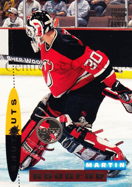 1994-95 Stadium Club Members Only #186 Martin Brodeur<br/>2 In Stock - $10.00 each - <a href=https://centericecollectibles.foxycart.com/cart?name=1994-95%20Stadium%20Club%20Members%20Only%20%23186%20Martin%20Brodeur...&price=$10.00&code=390177 class=foxycart> Buy it now! </a>