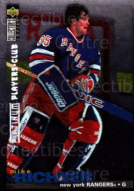 1995-96 Collectors Choice Players Club Platinum #306 Mike Richter<br/>7 In Stock - $3.00 each - <a href=https://centericecollectibles.foxycart.com/cart?name=1995-96%20Collectors%20Choice%20Players%20Club%20Platinum%20%23306%20Mike%20Richter...&quantity_max=7&price=$3.00&code=390388 class=foxycart> Buy it now! </a>