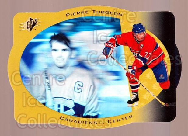 1996-97 SPx Gold #22 Pierre Turgeon<br/>2 In Stock - $5.00 each - <a href=https://centericecollectibles.foxycart.com/cart?name=1996-97%20SPx%20Gold%20%2322%20Pierre%20Turgeon...&quantity_max=2&price=$5.00&code=390420 class=foxycart> Buy it now! </a>