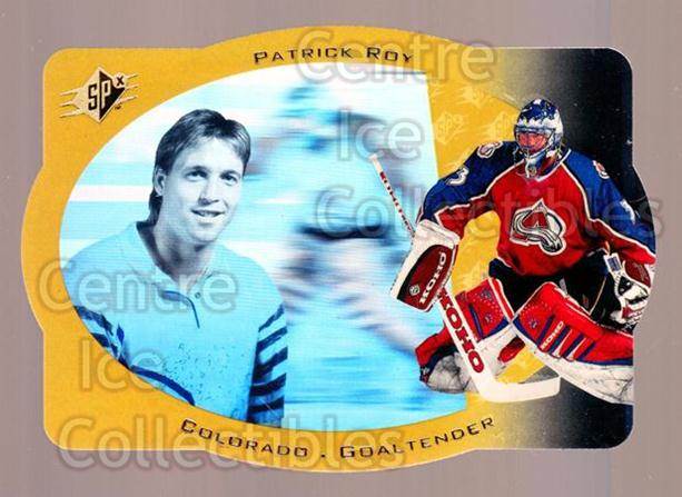 <a href=index.aspx?SetName=1996-97%20SPx%20Gold>1996-97 SPx Gold</a> #10 <a href=index.aspx?PlayerName=Patrick%20Roy> Patrick Roy</a><br/>1 in stock - $15.00 each - <a href=https://centericecollectibles.foxycart.com/cart?name=1996-97%20SPx%20Gold%20%2310%20Patrick%20Roy...&price=$15.00&code=390451 class=foxycart> Buy it now! </a>