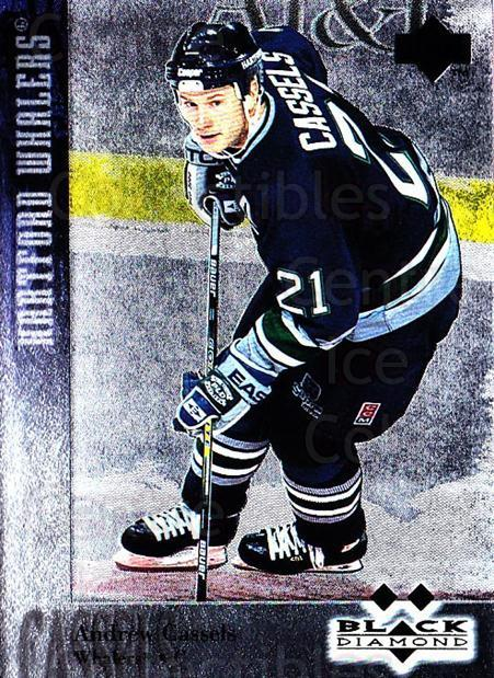 1996-97 Black Diamond #123 Andrew Cassels<br/>5 In Stock - $3.00 each - <a href=https://centericecollectibles.foxycart.com/cart?name=1996-97%20Black%20Diamond%20%23123%20Andrew%20Cassels...&quantity_max=5&price=$3.00&code=390732 class=foxycart> Buy it now! </a>