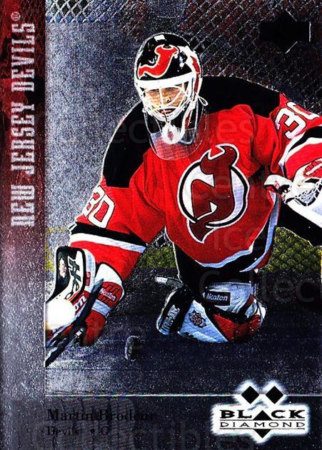 1996-97 Black Diamond #134 Martin Brodeur<br/>1 In Stock - $10.00 each - <a href=https://centericecollectibles.foxycart.com/cart?name=1996-97%20Black%20Diamond%20%23134%20Martin%20Brodeur...&quantity_max=1&price=$10.00&code=390743 class=foxycart> Buy it now! </a>