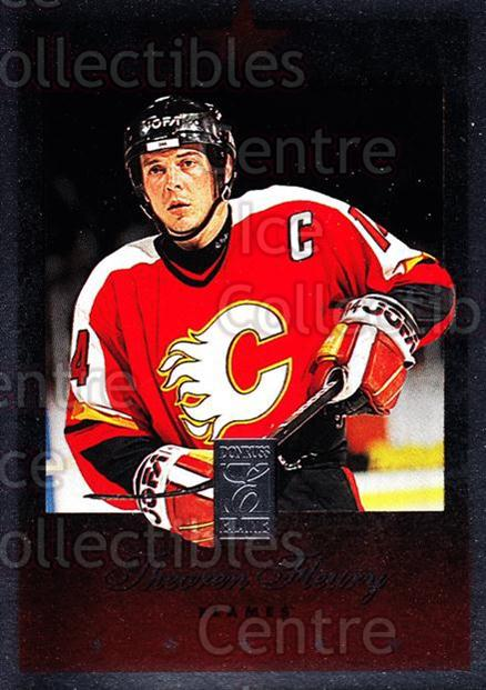 1995-96 Donruss Elite #106 Theo Fleury<br/>7 In Stock - $1.00 each - <a href=https://centericecollectibles.foxycart.com/cart?name=1995-96%20Donruss%20Elite%20%23106%20Theo%20Fleury...&quantity_max=7&price=$1.00&code=39084 class=foxycart> Buy it now! </a>