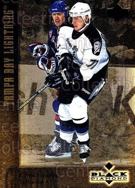 1996-97 Black Diamond Gold #77 Chris Gratton<br/>2 In Stock - $3.00 each - <a href=https://centericecollectibles.foxycart.com/cart?name=1996-97%20Black%20Diamond%20Gold%20%2377%20Chris%20Gratton...&quantity_max=2&price=$3.00&code=390860 class=foxycart> Buy it now! </a>
