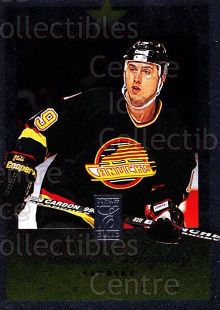 1995-96 Donruss Elite #18 Alexander Mogilny<br/>7 In Stock - $1.00 each - <a href=https://centericecollectibles.foxycart.com/cart?name=1995-96%20Donruss%20Elite%20%2318%20Alexander%20Mogil...&quantity_max=7&price=$1.00&code=39095 class=foxycart> Buy it now! </a>