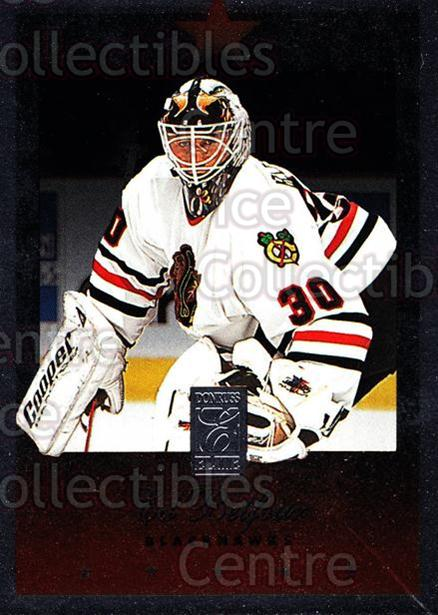 1995-96 Donruss Elite #20 Ed Belfour<br/>7 In Stock - $1.00 each - <a href=https://centericecollectibles.foxycart.com/cart?name=1995-96%20Donruss%20Elite%20%2320%20Ed%20Belfour...&price=$1.00&code=39097 class=foxycart> Buy it now! </a>